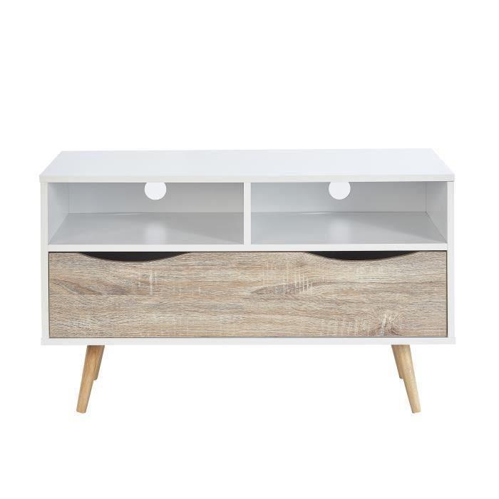 meuble tv 90 cm