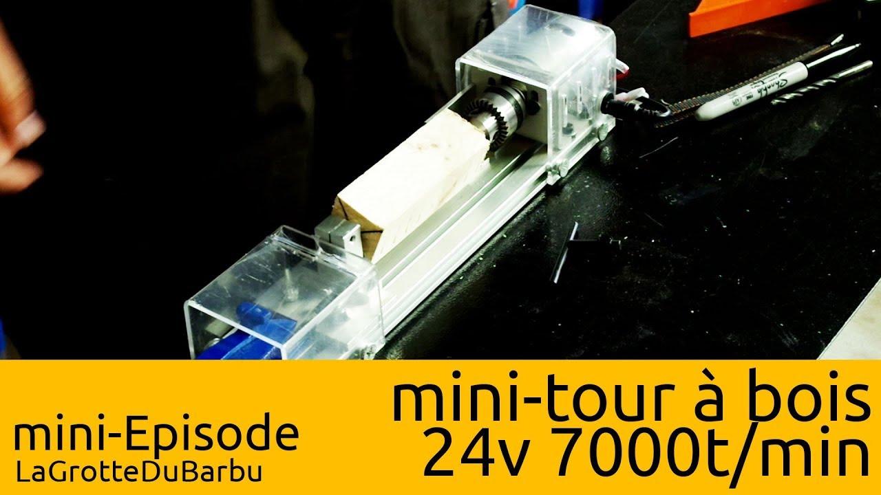 mini tour a bois