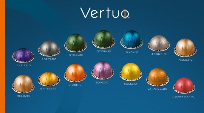 nespresso vertuo capsules