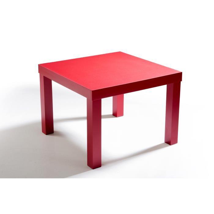 petite table basse carrée