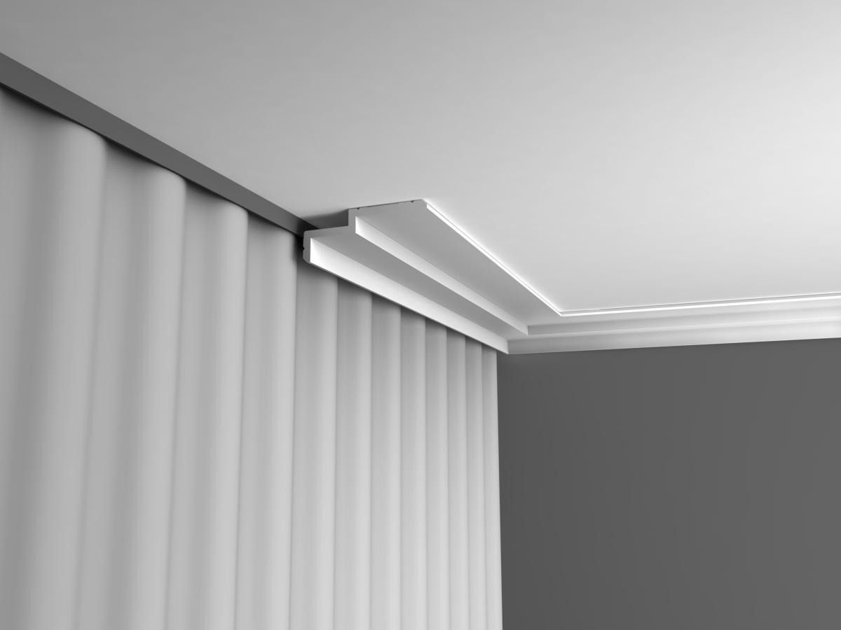 rideau plafond