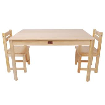 table enfant en bois