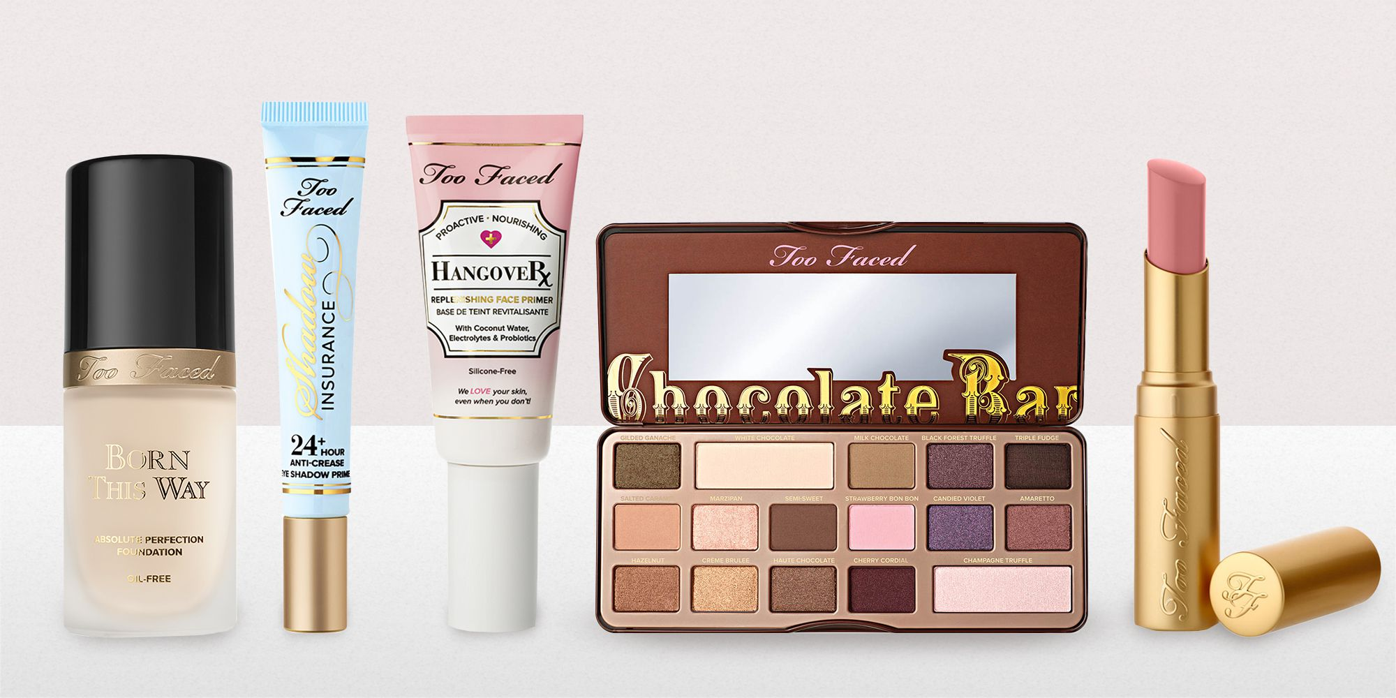 too faced makeup